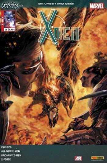 Couverture de l'album X-Men (V4) - 30. Le Vortex noir (6/7)