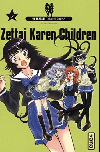 Couverture de l'album Zettai Karen Children - 17. Tome 17