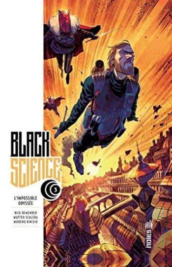 Couverture de l'album Black Science - 3. L'Impossible Odyssée