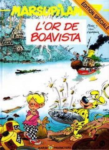 Couverture de l'album Marsupilami - 7. L'Or de Boavista