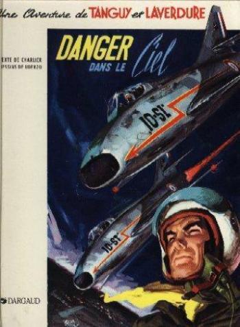 Couverture de l'album Tanguy et Laverdure - 3. Danger dans le ciel