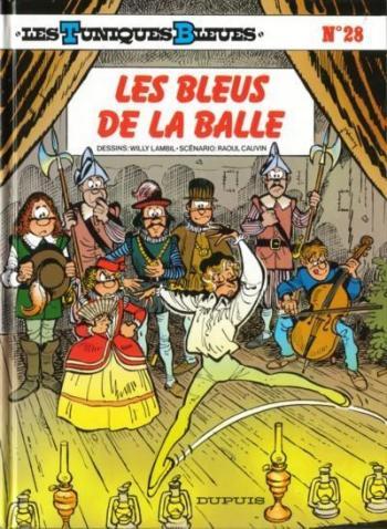 Couverture de l'album Les Tuniques bleues - 28. Les bleus de la balle