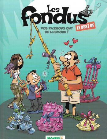 Couverture de l'album Les Fondus - HS. Le Best of - Vos passions ont de l'humour !