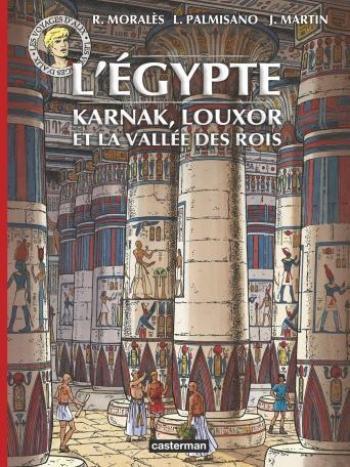 Couverture de l'album Les Voyages d'Alix - HS. L'Égypte : Karnak, Louxor et la Vallée des Rois