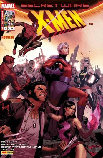 Couverture de l'album Secret Wars - X-Men - 1. Espérons que vous survivrez à l'expérience