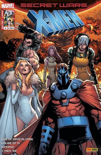 Couverture de l'album Secret Wars - X-Men - 2. Destruction mutuelle assurée