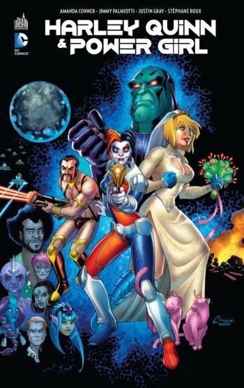 Couverture de l'album Harley Quinn & Power Girl (One-shot)