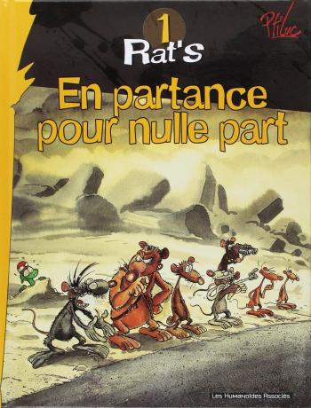 Couverture de l'album Rat'S - 1. En partance pour nulle part