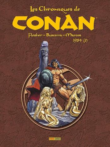 Couverture de l'album Les Chroniques de Conan - 17. 1984 (I)