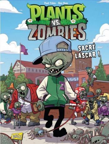 Couverture de l'album Plants vs. Zombies - 3. Sacré Lascar !