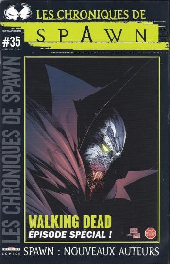Couverture de l'album Les Chroniques de Spawn - 35. Les Chroniques de Spawn n° 35