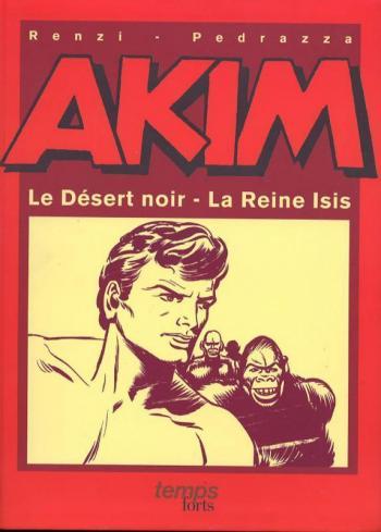 Couverture de l'album Akim - HS. Le Désert noir / La Reine Isis