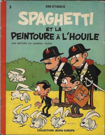 Couverture de l'album Spaghetti - 1. Spaghetti et la peintoure à l'houile