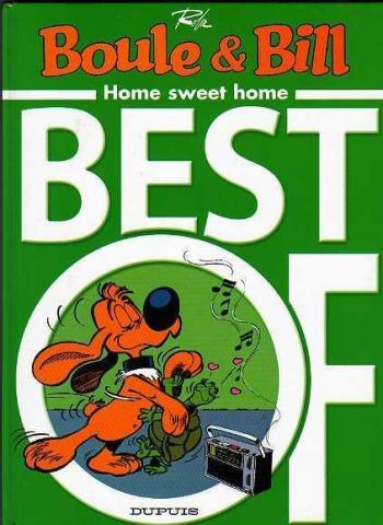 Couverture de l'album Boule & Bill (dès 2000) - HS. Best of - Home sweet home