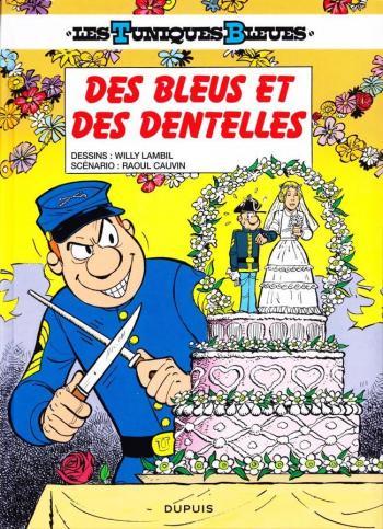 Couverture de l'album Les Tuniques bleues - 22. Des bleus et des dentelles