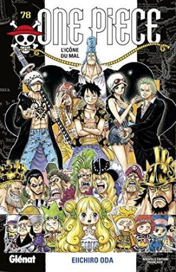Couverture de l'album One Piece - 78. L'icône du mal