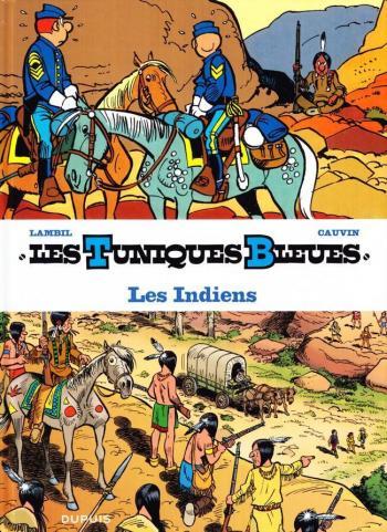 Couverture de l'album Les Tuniques bleues présentent - 4. Les Indiens