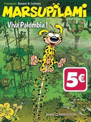 Couverture de l'album Marsupilami - 20. Viva Palombia !