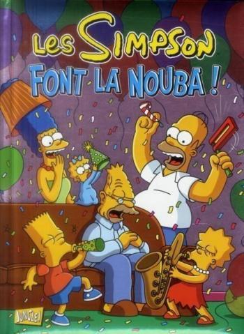 Couverture de l'album Les Simpson - Spécial Noël - 4. Les Simpson font la nouba