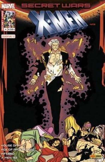 Couverture de l'album Secret Wars - X-Men - 4. Le meilleur des mondes