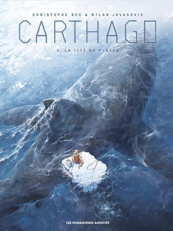 Couverture de l'album Carthago - 5. La Cité de Platon