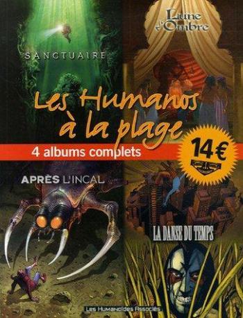 Couverture de l'album Les Humanos à la plage - 2. Tome 2