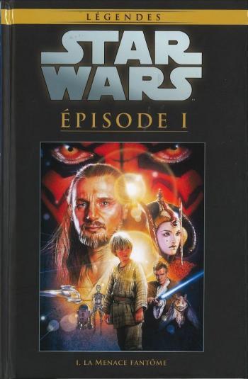 Couverture de l'album Star Wars (Collection Hachette) - 23. Episode I - La Menace fantôme
