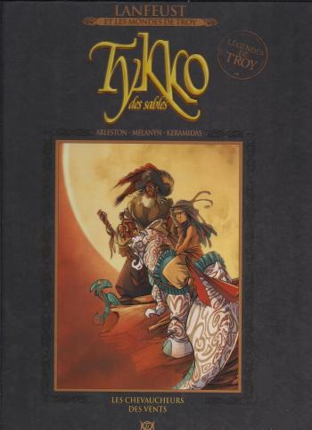 Couverture de l'album Lanfeust et les mondes de Troy - 37. Tykko des sables - Les Chevaucheurs des vents