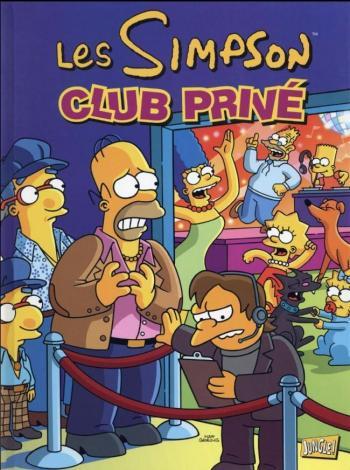 Couverture de l'album Les Simpson (Jungle) - 29. Club privé