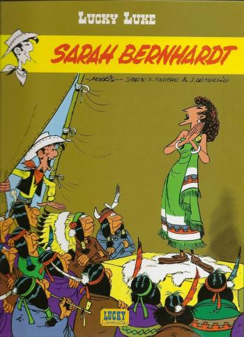 Couverture de l'album Lucky Luke - 49. Sarah Bernhardt
