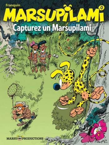 Couverture de l'album Marsupilami - 0. Capturez un Marsupilami