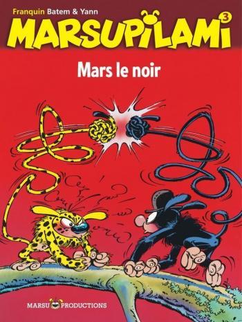 Couverture de l'album Marsupilami - 3. Mars le noir