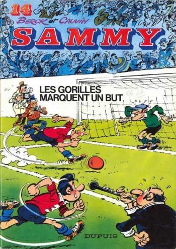 Couverture de l'album Sammy - 14. Les gorilles marquent un but