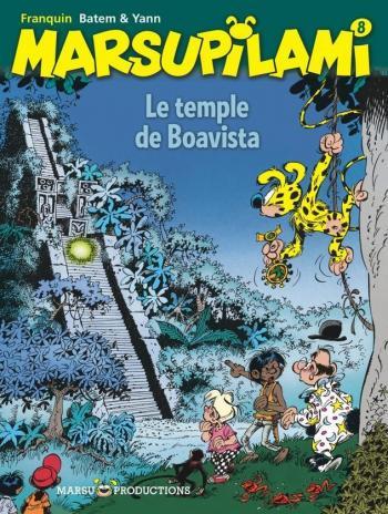 Couverture de l'album Marsupilami - 8. Le Temple de Boavista