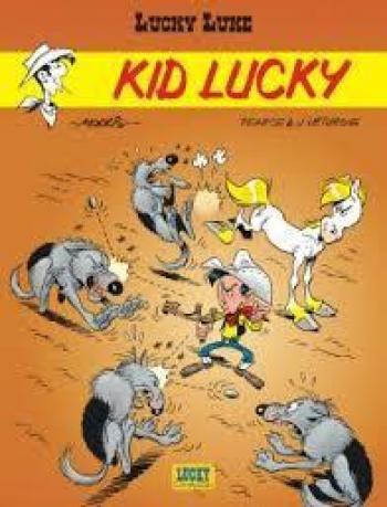 Couverture de l'album Lucky Luke - 64. Kid Lucky
