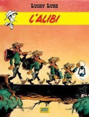 Couverture de l'album Lucky Luke - 58. L'alibi