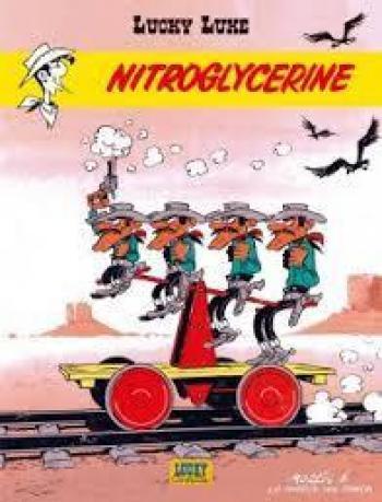 Couverture de l'album Lucky Luke - 57. Nitroglycerine