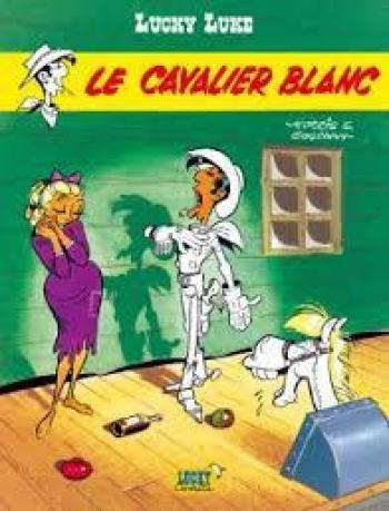 Couverture de l'album Lucky Luke - 43. Le cavalier blanc
