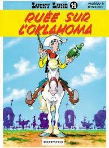 Couverture de l'album Lucky Luke - 14. Ruée sur l'Oklahoma