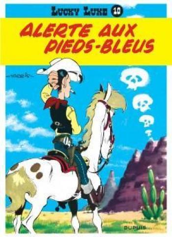 Couverture de l'album Lucky Luke - 10. Alerte aux Pieds-Bleus