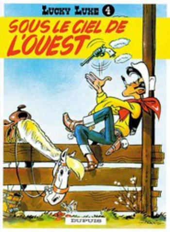 Couverture de l'album Lucky Luke - 4. Sous le ciel de l'Ouest
