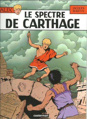 Couverture de l'album Alix - 13. Le Spectre de Carthage