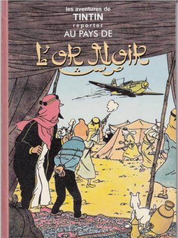 Couverture de l'album Tintin (Pastiches, parodies et pirates) - HS. Tintin au pays de l'or noir