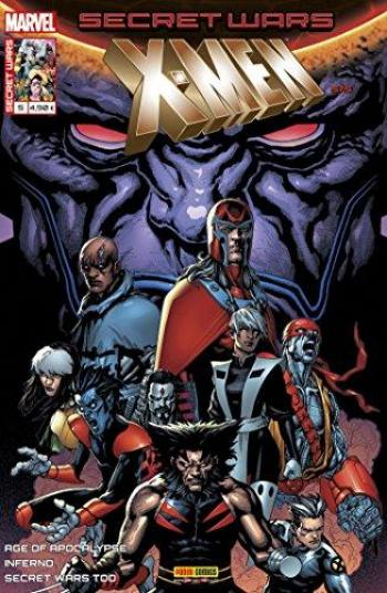 Couverture de l'album Secret Wars - X-Men - 5. Le remède