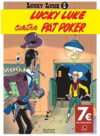 Couverture de l'album Lucky Luke - 5. Lucky Luke contre Pat Poker