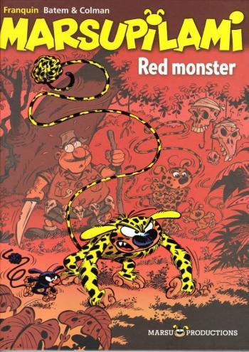 Couverture de l'album Marsupilami - 21. Red Monster