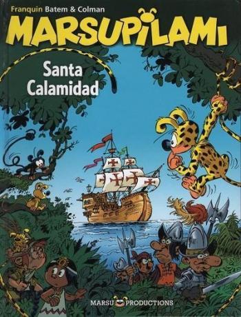 Couverture de l'album Marsupilami - 26. Santa calamidad