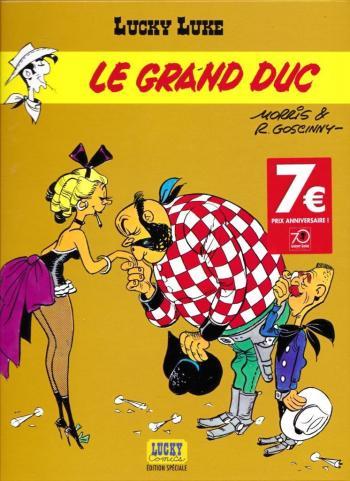 Couverture de l'album Lucky Luke - 40. Le Grand Duc