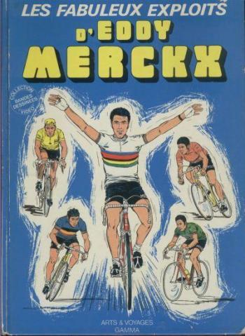 Couverture de l'album Les Fabuleux exploits d'Eddy Merckx (One-shot)