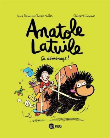 Couverture de l'album Anatole Latuile - 9. Ça déménage !
